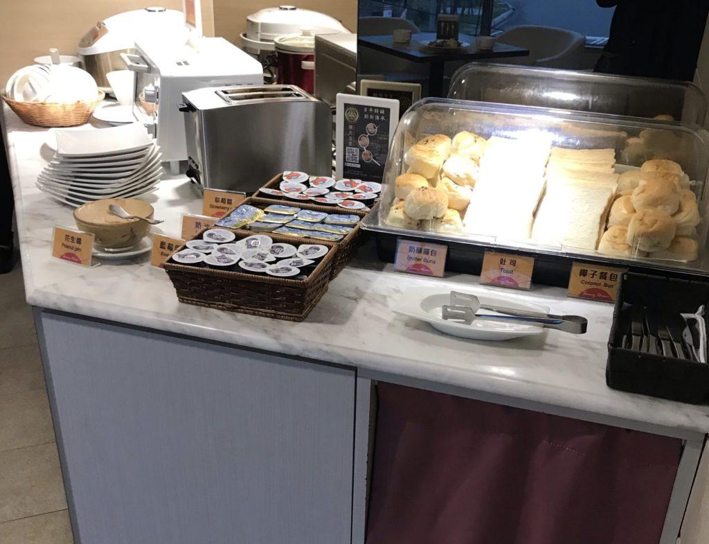 バトラーホテルの朝食ビュッフェ