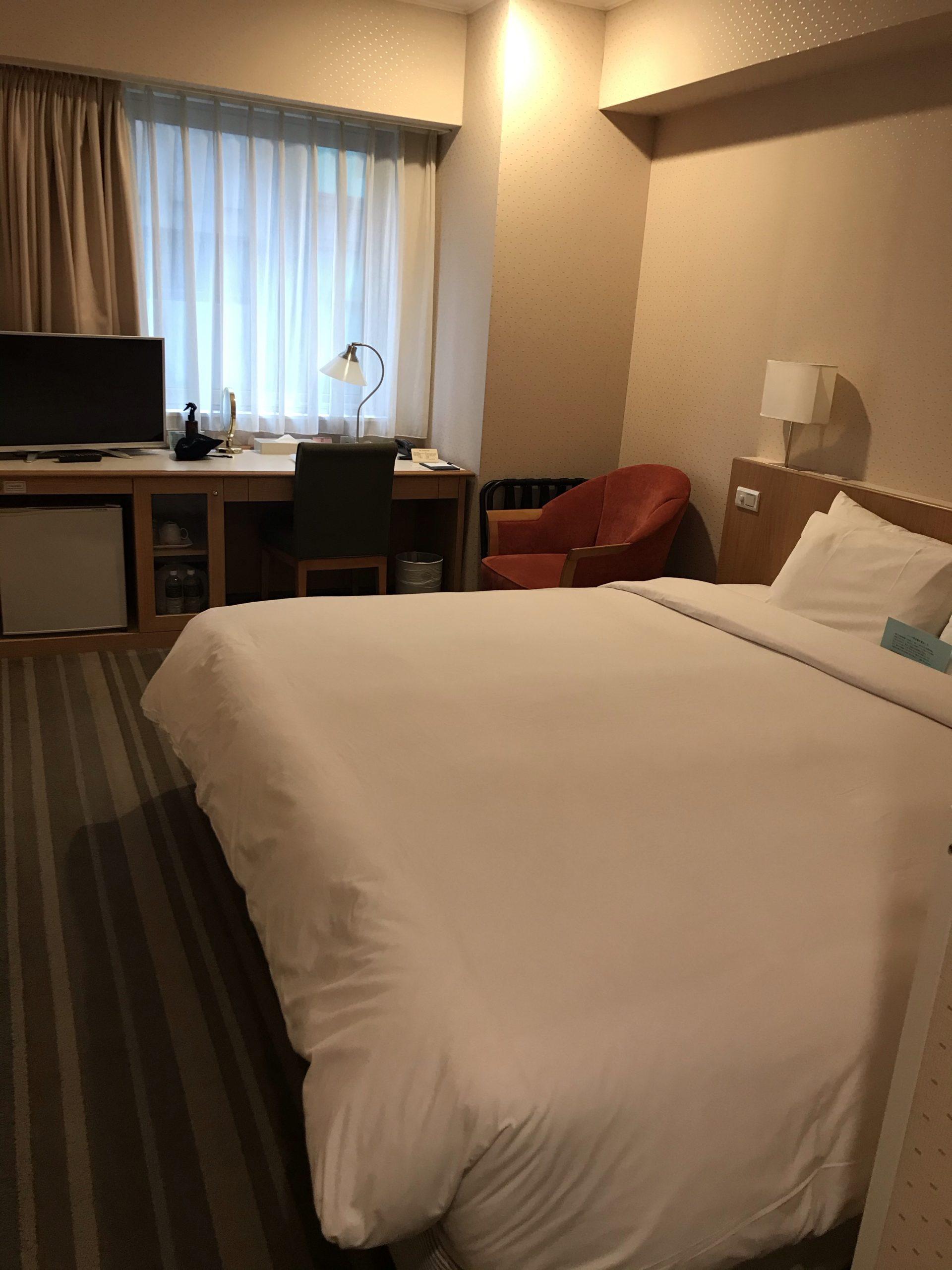 サンルート台北ホテルの部屋